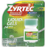 Zyrtec Liquid Gels 25 ct -Catalog