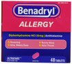 Benadryl Allergy Ultratabs 48 ct -Catalog