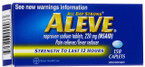 Aleve Caplets 150 ct -Catalog
