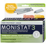 Monistat 3 Dual Action System #44300 -Catalog