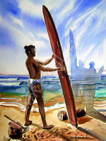The First Real Surfboard