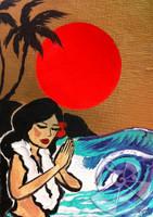 Prayer for Japan By Drew Toonz