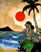 Rising Sun By Drew Toonz