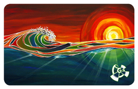 """$10 Gift Card featuring """"Rays"""" by Patrick Parker"""