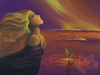 His Kingdom - Mini Giclee - By Danielle Zirkelbach Fenwick