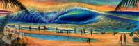 Banzai Pipeline By Clark Takashima