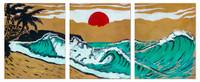 Hokusai Wave Tribute By Drew Toonz