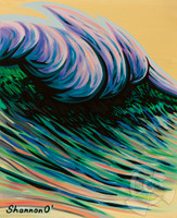 Pastelle Swell II By Shannon O'Connell
