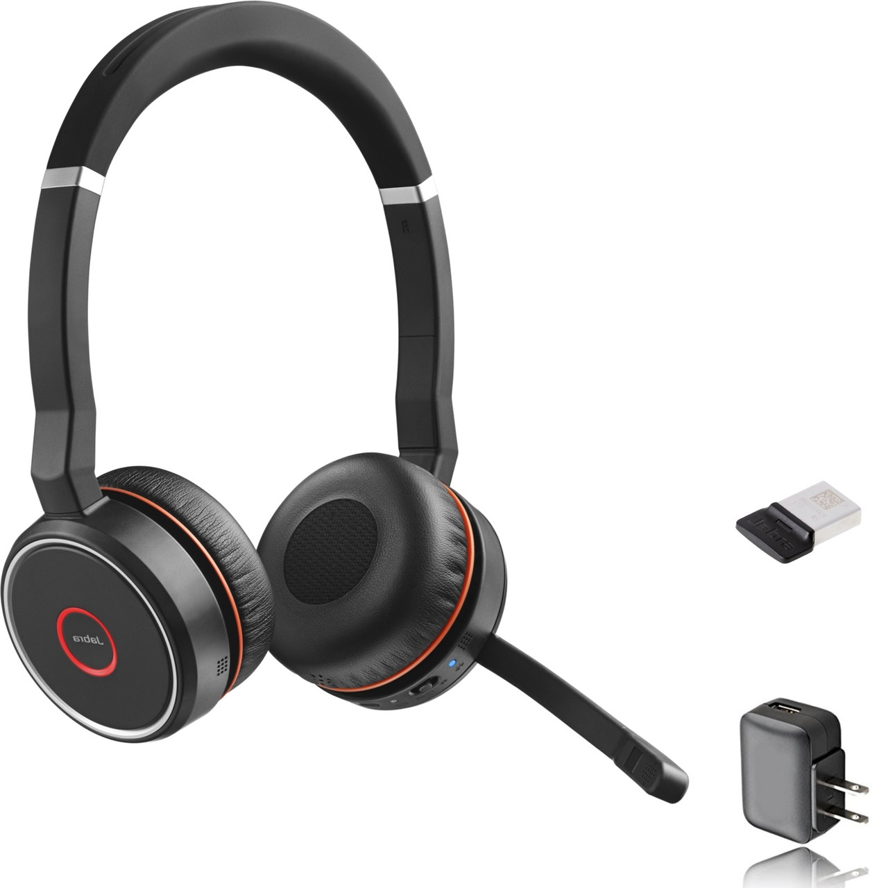 Jabra Evolve 75 Bluetooth Headset Bundle