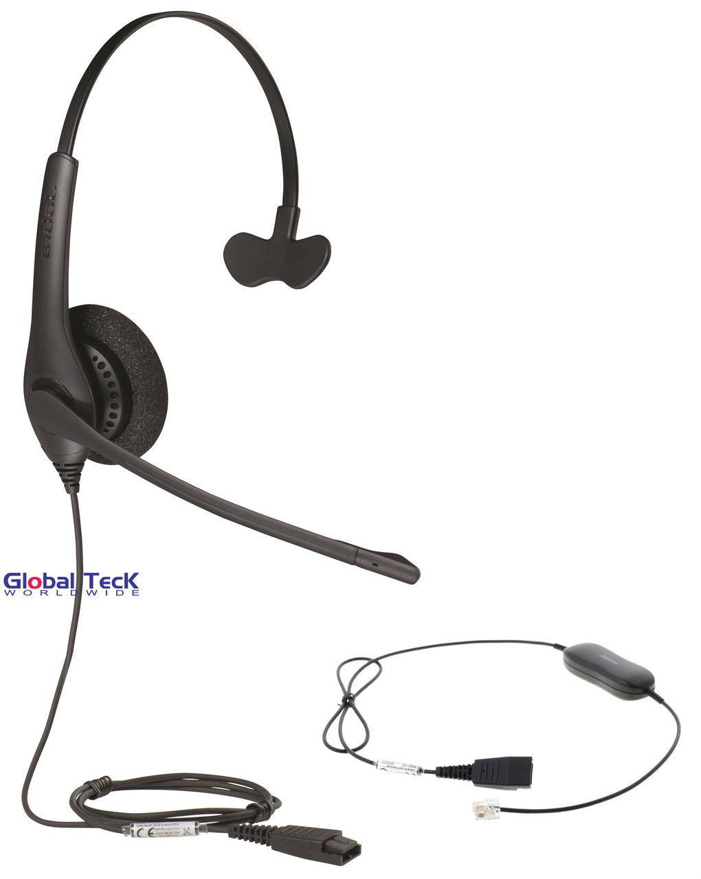 Avaya Phone Compatible 1520 Direct Connect Headset | Avaya IP Phones: 1608,  1616, 9601, 9608, 9610, 9611, 9611G, 9620, 9620C, 9620L, 9621, 9630, 9640,