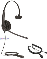 Jabra BIZ 1520 Mono Headset with 2.5mm headset cable