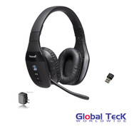 VXi BlueParrott S450-XT Bluetooth/NFC Stereo Mic Headphones w/ USB Bluetooth Dongle & Wall Charger