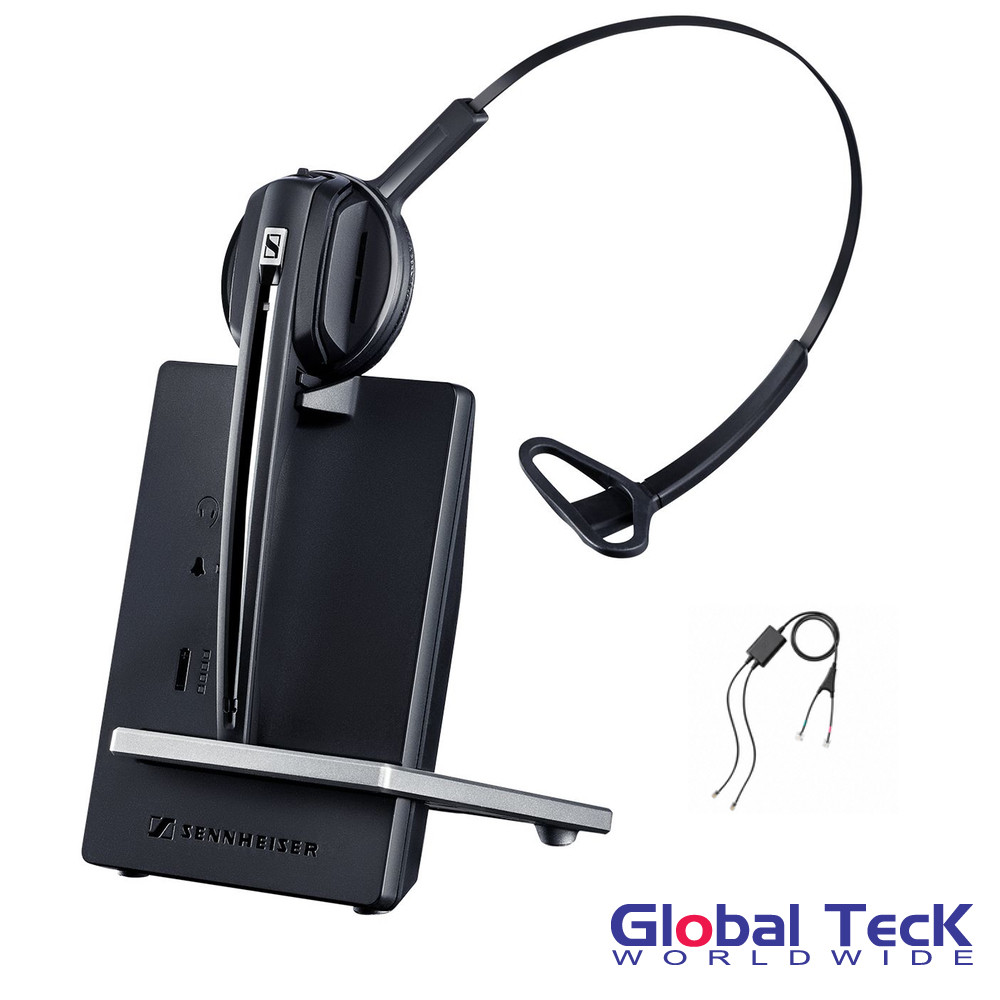 Cisco Compatible Sennheiser D10 Wireless Headset with Cisco EHS included |  Cisco Models: 7821, 7841, 7861, 7942g, 7945g, 7962g, 7965g, 7975g, 8811,