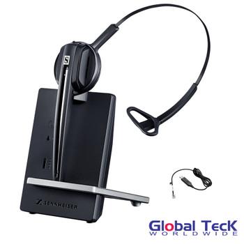 Cisco Compatible Sennheiser D10 Wireless Headset w/ Cisco EHS Adapter