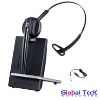 Cisco Compatible Sennheiser D10 Wireless Headset w/ Cisco EHS Adapter