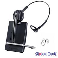 Avaya Compatible Sennheiser D10 Wireless Headset w/ Avaya EHS adapter