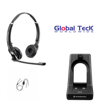 Sennheiser SD PRO2 - Deskphone cordless Headset with Avaya EHS Adapter