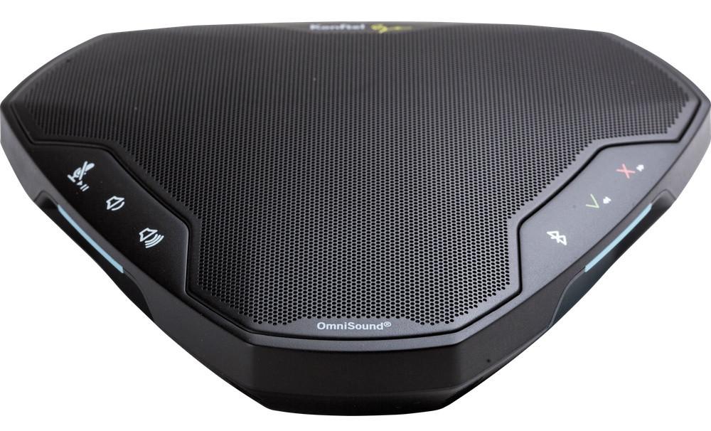 Konftel EGO Rechargeable Wireless Speakerphone | Bluetooth, USB, NFC, PC,  MAC | Compatible with UC, Softphones, Smartphones, Tablet, MAC| #910101081
