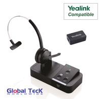 Yealink Phone Compatible Jabra PRO 9450 Bundle with EHS Remote Answering Adapter