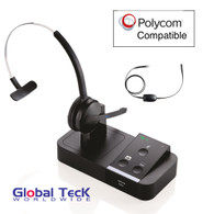 Polycom and Digium Phone Compatible Jabra PRO 9450 Bundle with EHS Remote Answering Adapter