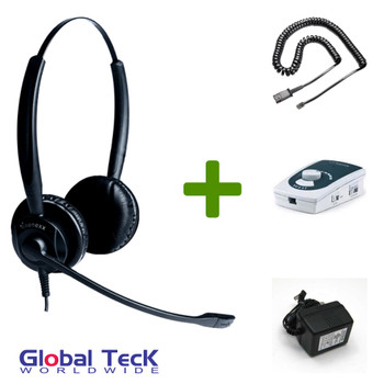 UA45 Bundle with Power Adapter and XS 825 Duo Direct Connect Headset
