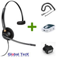 UA45 Bundle with Power Adapter and HW510 Mono Direct Connect Headset