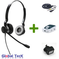 UA45 Bundle with Power Adapter and BIZ2325 Duo Direct Connect Headset