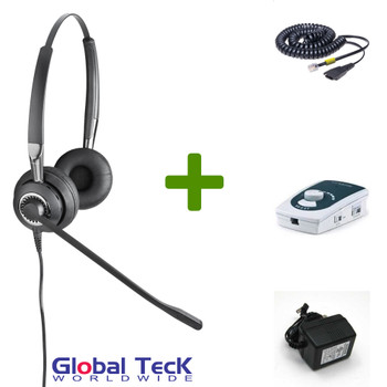 UA45 Bundle with Power Adapter and BIZ2425 Duo Direct Connect Headset
