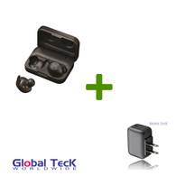 Jabra Bluetooth Elite Sport Wireless EarBuds Bundle W/ Bonus Wall Charger