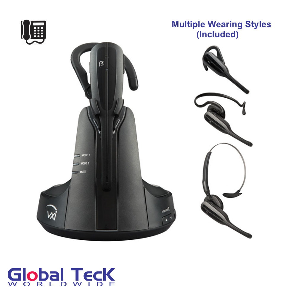 VXi V175 Wireless Headset | For Digital, VoIP, Analog and cordless phones |  Nortel, Linksys, Comdial, Vertical, Tadiran, Iwatsu, NEC, AT&T, and more