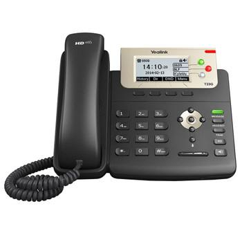 Yealink Enterprise HD IP Phone SIP-T23G - Without Power Supply