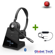 Avaya Phone Compatible Jabra Engage 75 Wireless Stereo Headset