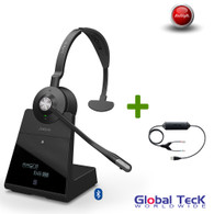 Avaya Phone Compatible Jabra Engage 75 Wireless Mono Headset #9556-583-125
