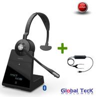 Avaya Phone Compatible Jabra Engage 75 Wireless Mono Headset #9556-583-125