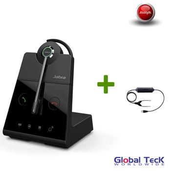 Avaya Phone Compatible Jabra Engage 65 Wireless Convertible Headset