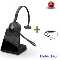 Avaya Phone Compatible Jabra Engage 65 Wireless Mono Headset #9553-553-125