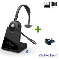 Jabra Engage 75 Wireless Mono Headset with Remote Lifter