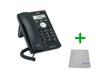 Vtech VSP715 | 2 SIP Account Office Desk Phone | 4 SIP Account Office Desk Phone | VoIP, PoE, HD Wideband Audio, 2-lines, Speakerphone, 2-port Ethernet | Up to 2 SIP Accounts | Business Office Desk Phone | Requires SIP/VoIP Service (VSP715)