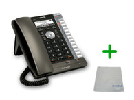 Vtech VSP725 | 3 SIP Acocunt Office Desk Phone | VoIP, PoE, HD Wideband Audio, 3-lines, Speakerphone, 2-port Ethernet | Up to 3 SIP Accounts | Business Office Desk Phone | Requires SIP/VoIP Service (VSP725)