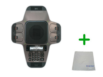 Vtech VCS754 | SIP 4 Wireless Mic Speakerphone | HD Wideband Audio, 4-lines, Conference Phone | Business Office Conference Phone | Requires SIP Service (VCS754)