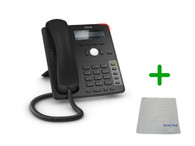 SNOM D715 | 4 SIP Account Office Desk Phone |VoIP, PoE, HD Wideband Audio, 4 Lines, 2-port 1 Gigabit Ethernet, | Up to 4 SIP Accounts, | Business Office Desk Phone | Requires SIP/VoIP Service (D715)