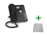 SNOM D725 | 12 SIP Account Office LCD Desk Phone |VoIP, PoE, HD Wideband Audio, 12 Lines, 2-port 1 Gigabit Ethernet, | Up to 12 SIP Accounts, | Business Office Desk Phone | Requires SIP/VoIP Service (D725)