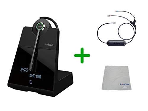 Avaya Compatible Jabra Engage 75 Wireless Headset Bundle with EHS Adapter,  9555-583-125-AVA33   Avaya Deskphones, Bluetooth Phones, PC/MAC -