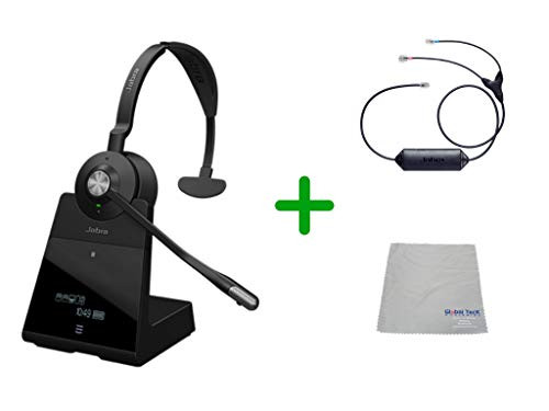 ed4188bb333 Avaya Compatible Jabra Engage 75 Wireless Mono Headset Bundle with EHS  Adapter, 9556-583-125-CIS | For Avaya Deskphones, Bluetooth Phones, ...
