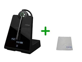 Avaya Compatible Jabra Engage 75 Wireless Headset Bundle, 9555-583-125-AVA-C | Bluetooth Phones, PC/MAC, USB, Select Avaya Desk phones, Compatible Vantage Series - K155, K165, K175 | 9-hour battery