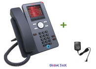 Avaya IP Phone J179 Bundle with Power Supply | Color Display | HD Audio Quality | 700
