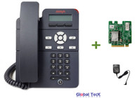 Avaya IP Phone J129 Bundle with Power Supply and Wireless Module | Single Line Phone | Dual Ethernet Port | 700513639