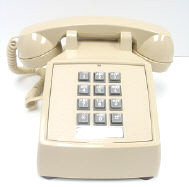Cortleco 2500 VBA 20M (Ash) Basic Desk Phone | 250044-VBA-20M