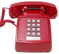 2500 VBA 20M (Red) Basic Desk Phone