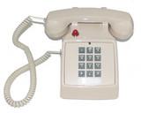 Cortelco (Ash) Basic Phone w/Message Indicator